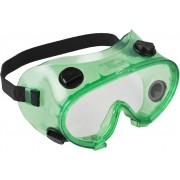 Очки ЗУБР 'МАСТЕР' защитные закрытого типа, с непрямой вентиляцией, линза поликарбонатная
